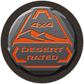 rated badge