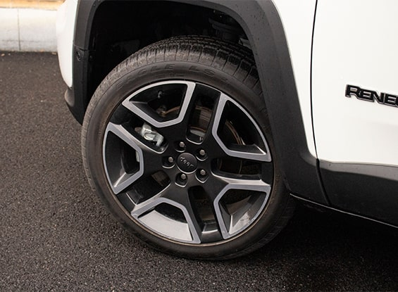 Jeep Renegade wheels