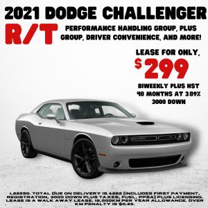 2021 Dodge Challenger Promotion