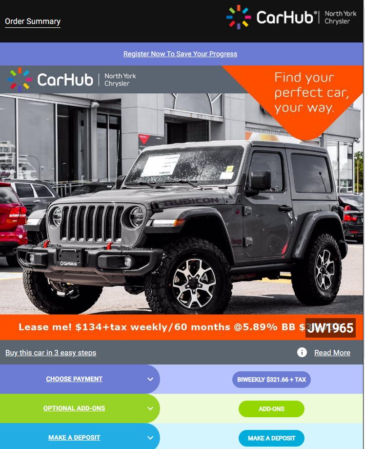 buy car online Popout