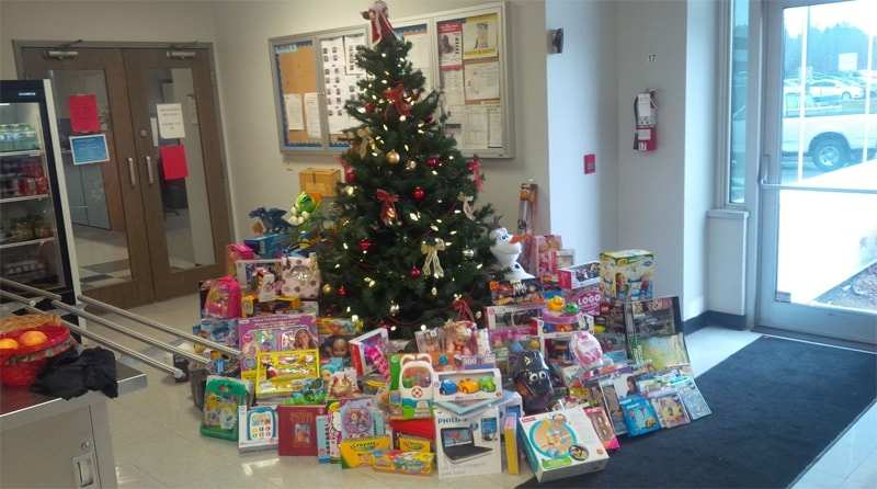 Unique Chrysler Charitable Support Toy drive