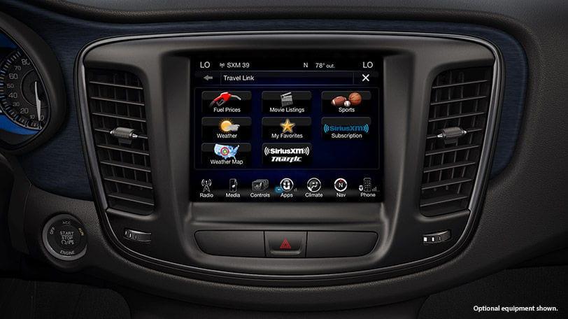 New Chrysler 200 Sedan Infotainment System