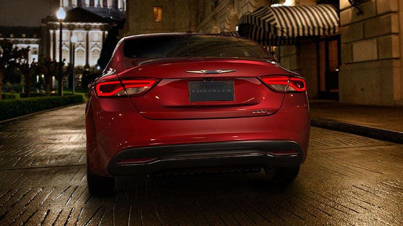 New Chrysler 200 Sedan Rear View