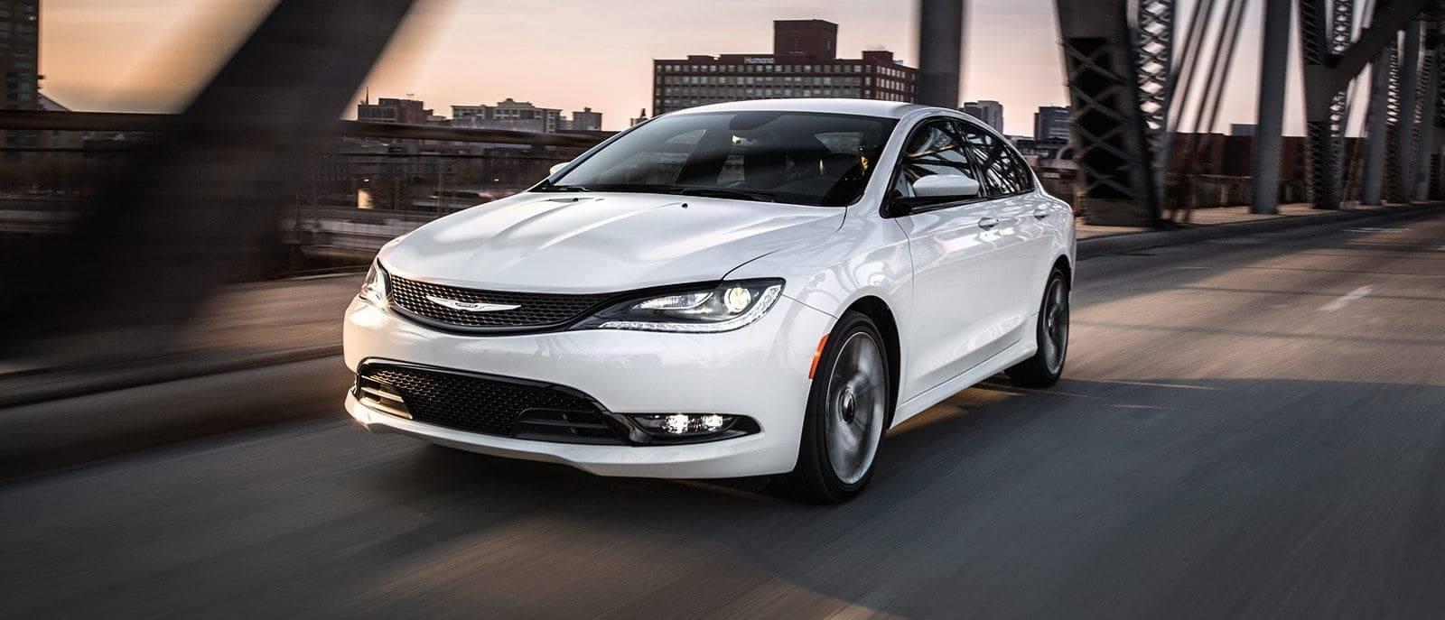 New Chrysler 200 Sedan