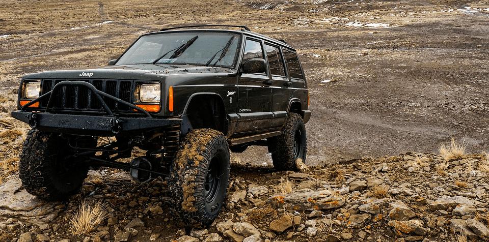 Jeep Cherokee Older Model Banner