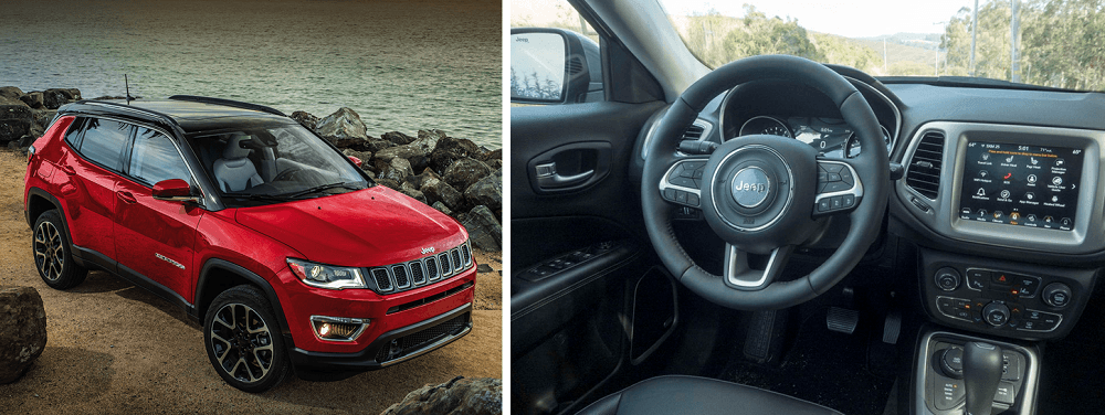 2020 Jeep Compass Exterior design and interior