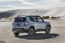 Jeep Renegade in Desert
