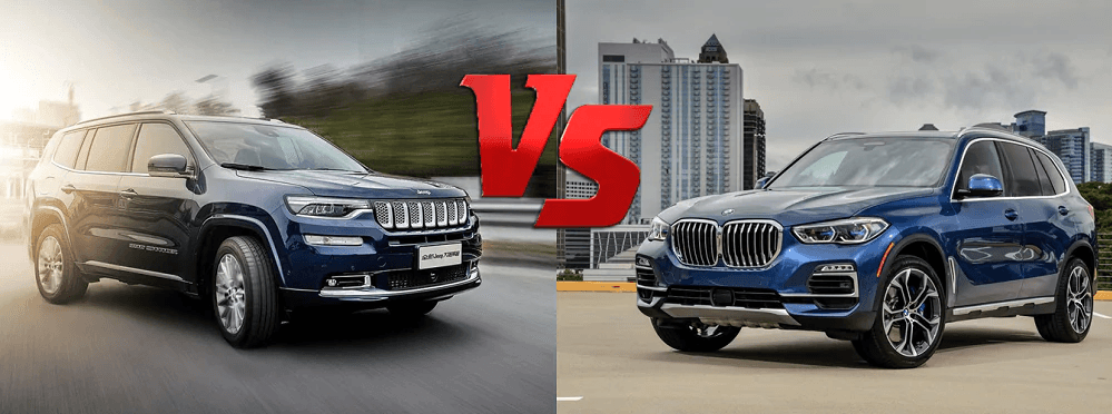 jeep cherokee vs bmw x5