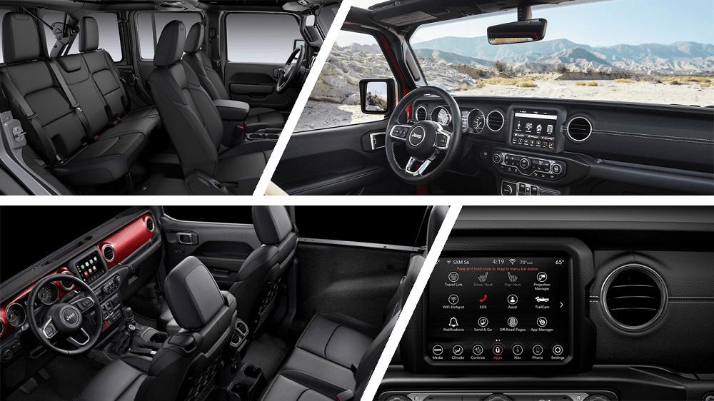 2020 Jeep Wrangler Unlimited Rubicon Interior Look