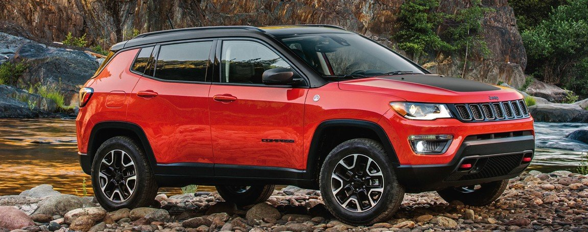 2021 Jeep Compass - Red