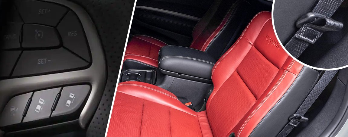 Dodge Durango   Safety   Interior comfort