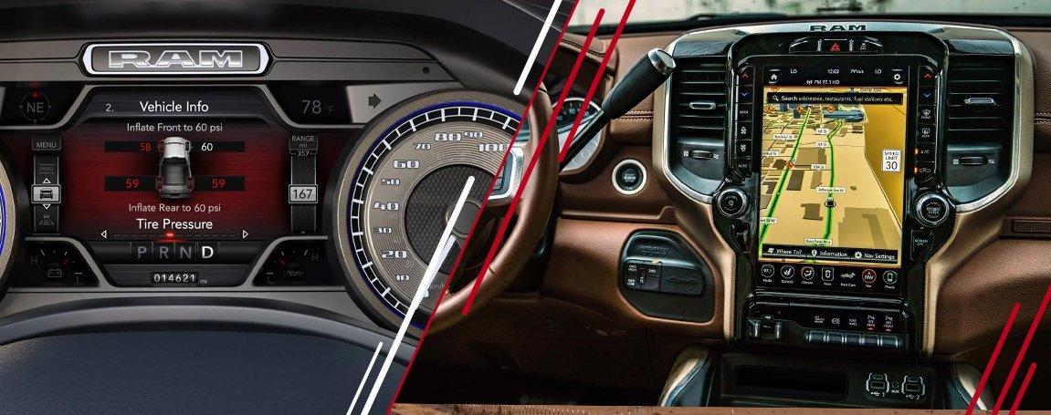 2021 RAM 3500 | Navigation Technology and Infotainment