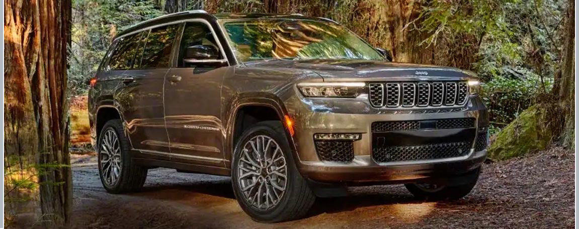 2021 Grand Cherokee L Pricing
