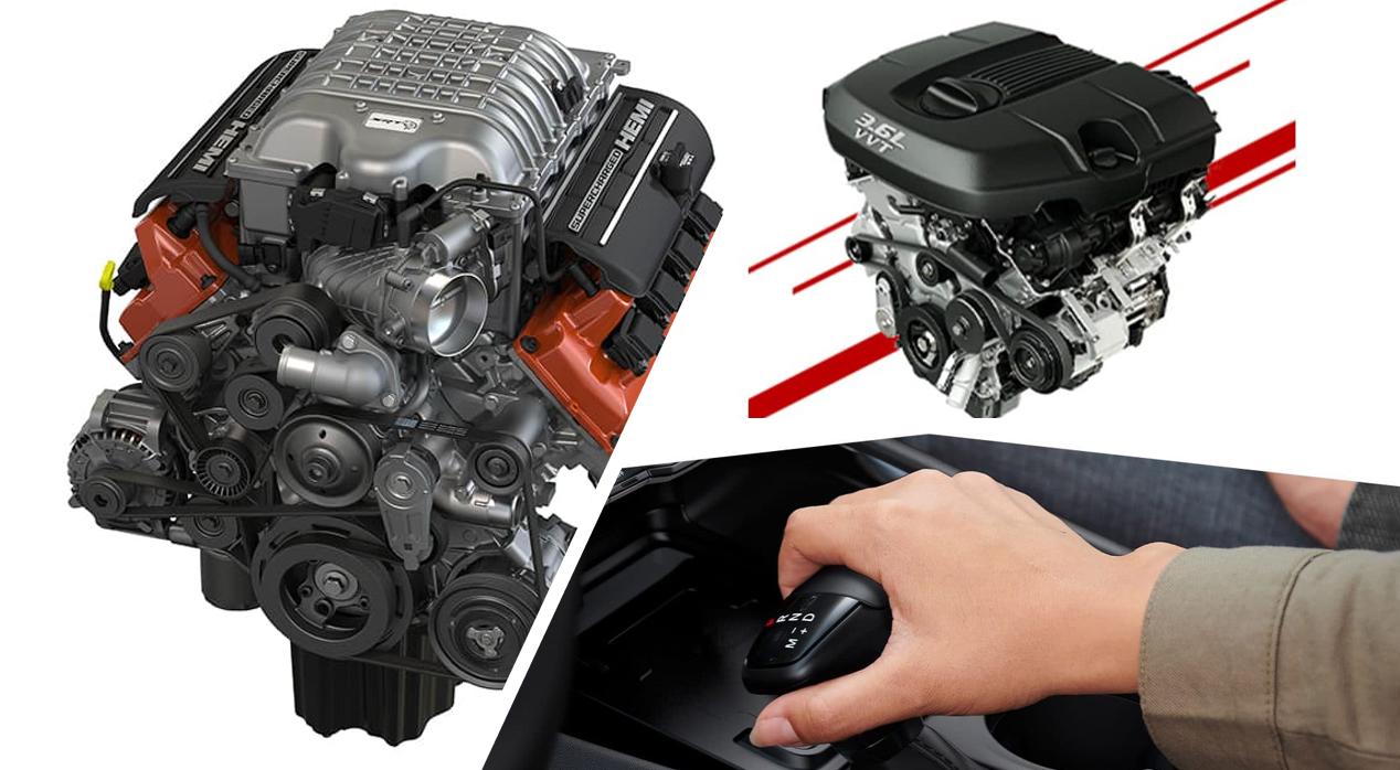 dodge exterior engine