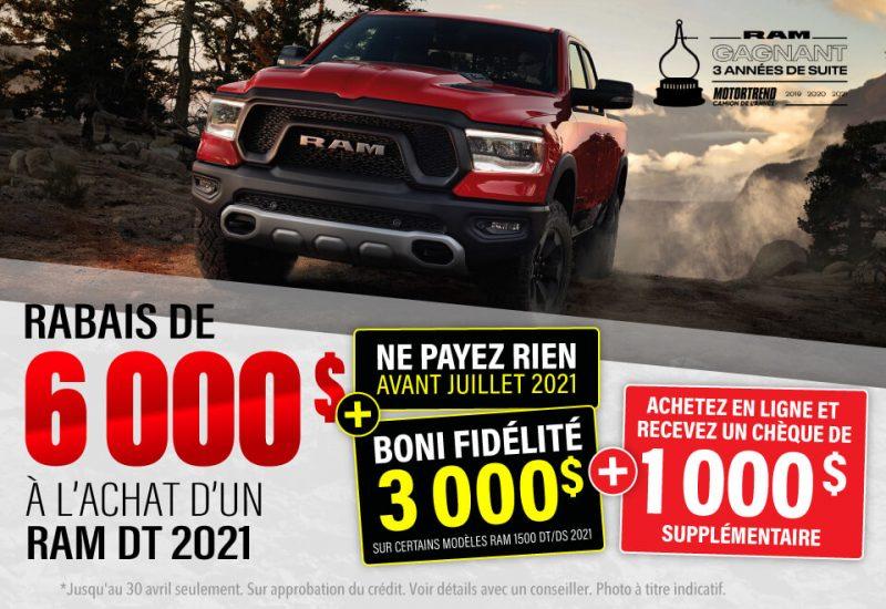 RAM DT 2021