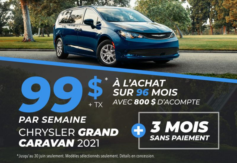 Chrysler Grand Caravan 2021