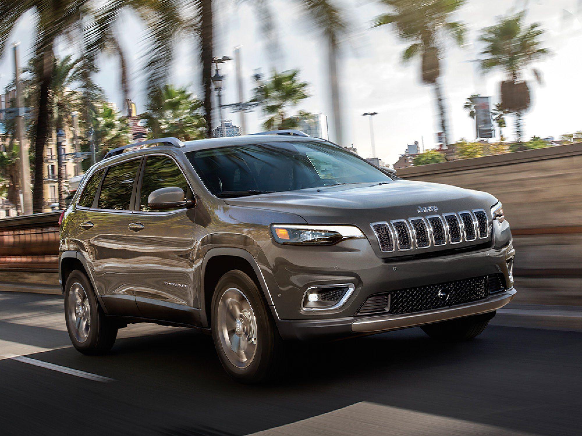 2020 Jeep Cherokee - Grey Exterior