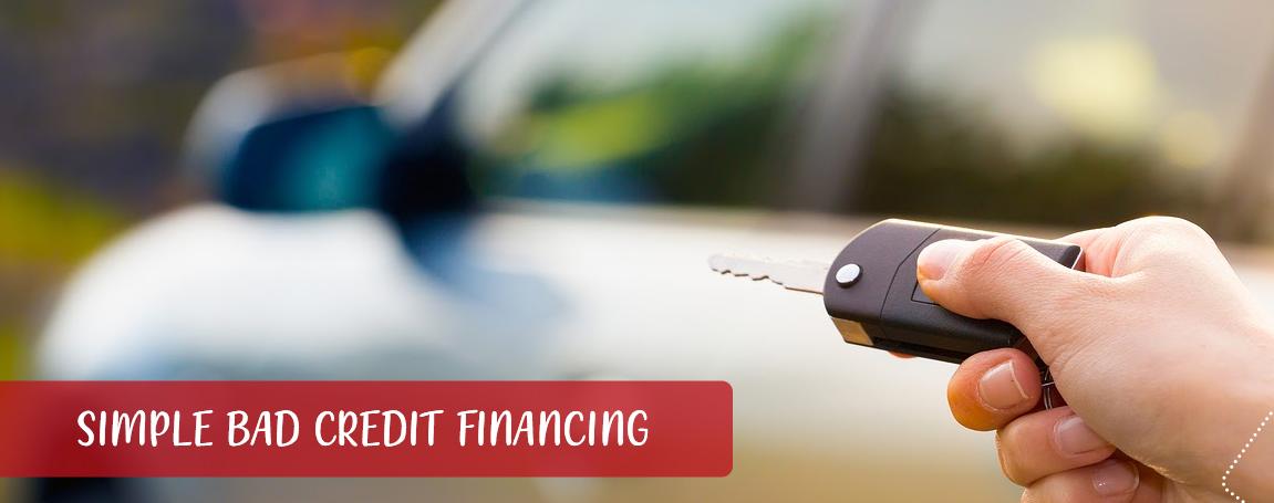 Simple Bad Credit Financing