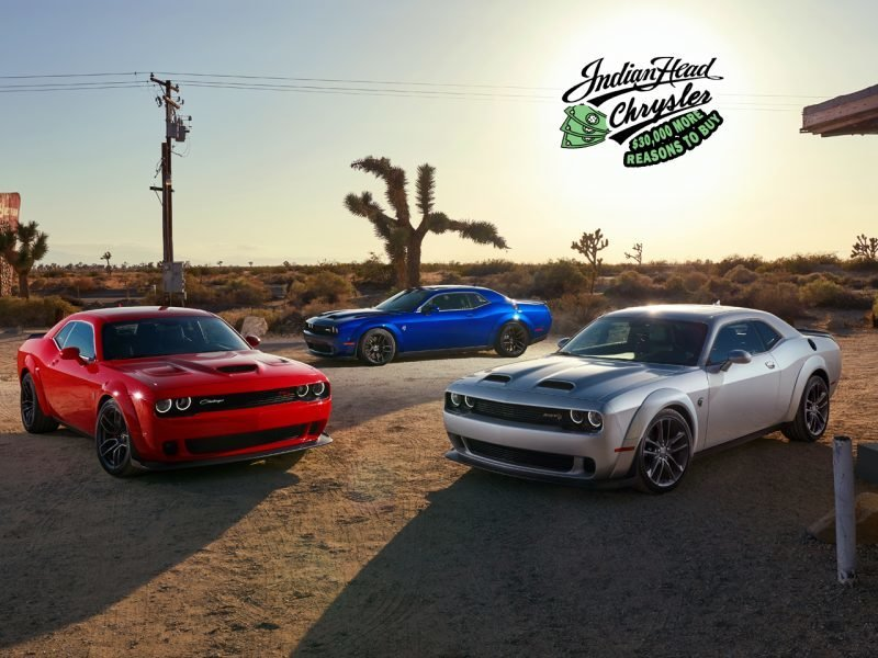 Christmas Showroom 2021 Challenger Build And Price Indian Head Chrysler