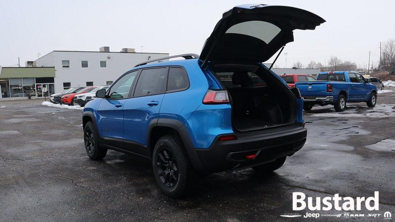 Image of 2021 Jeep Cherokee Trailhawk Elite Hands Free Power Liftgate at Bustard Chrysler