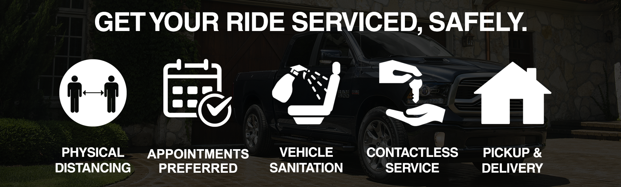 Get Your Ride Serviced Safely at Bustard Chrysler Stage 1