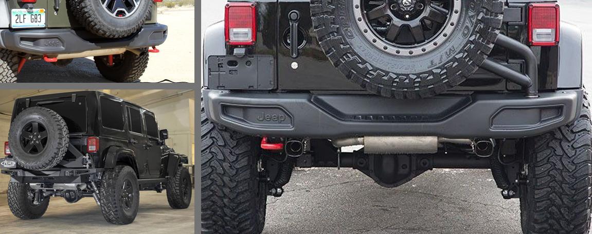 Jeep Parts   Rear Bumper