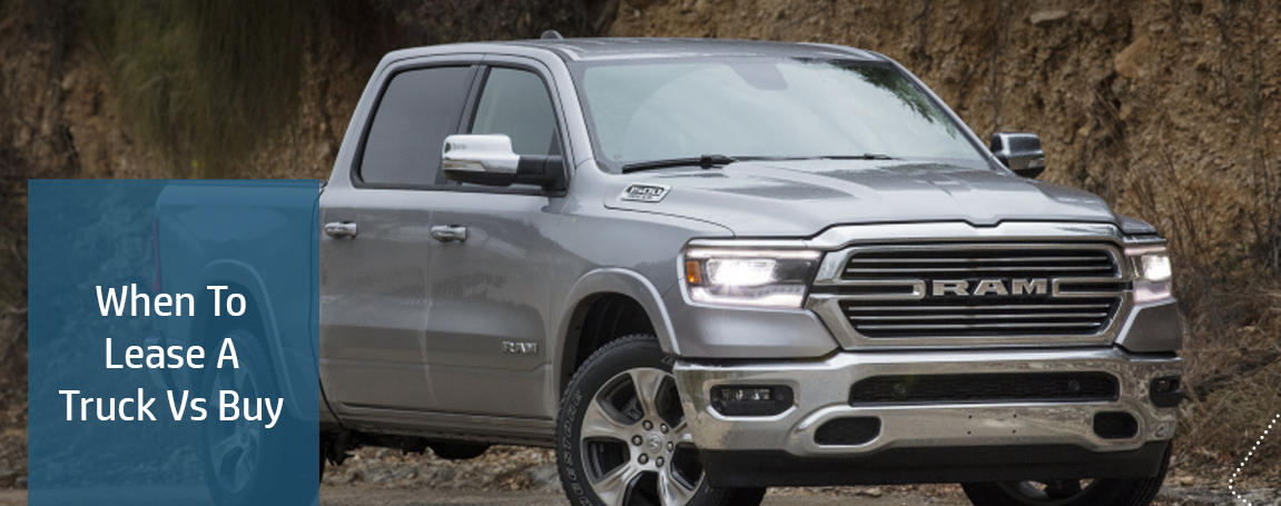 When To Lease A Truck Vs Buy