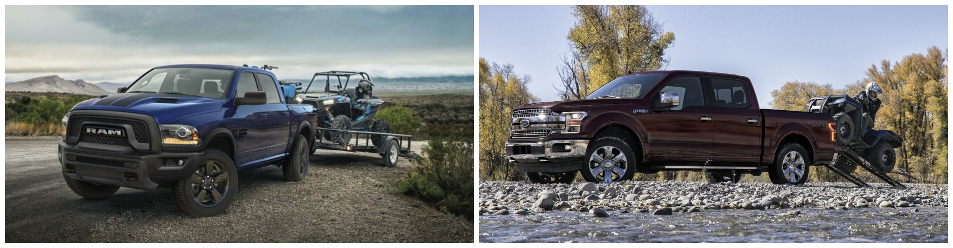2020 RAM 1500 vs 2020 Ford F-150 Towing