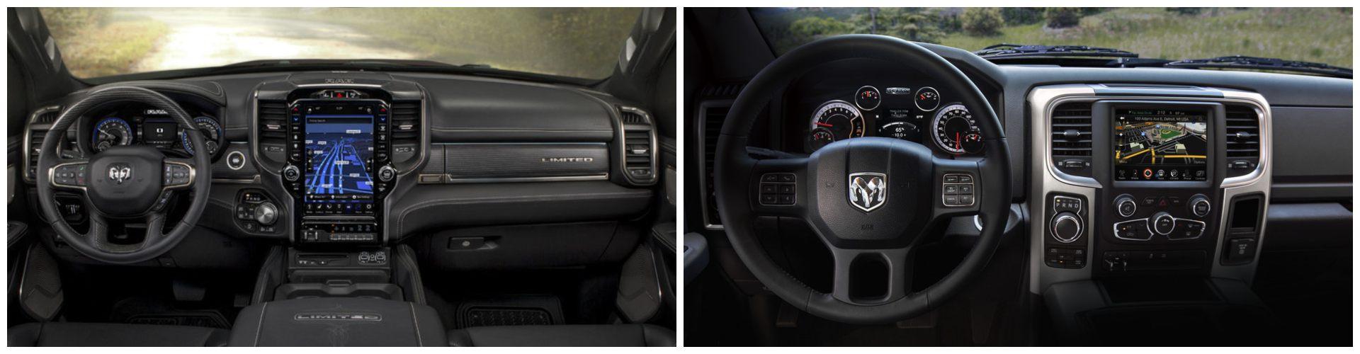 2020 RAM 1500 vs RAM 1500 Classic Interior