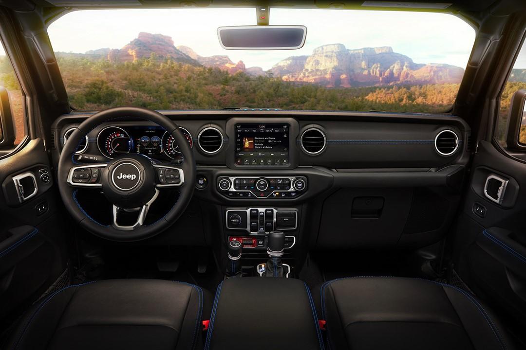 2021 Jeep Wrangler 4xE Interior 1