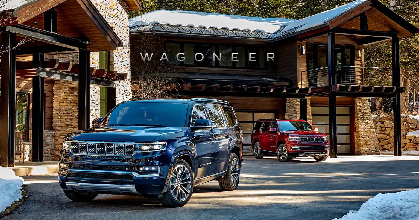 2021 Jeep Wagoneer - Anticipate Greatness