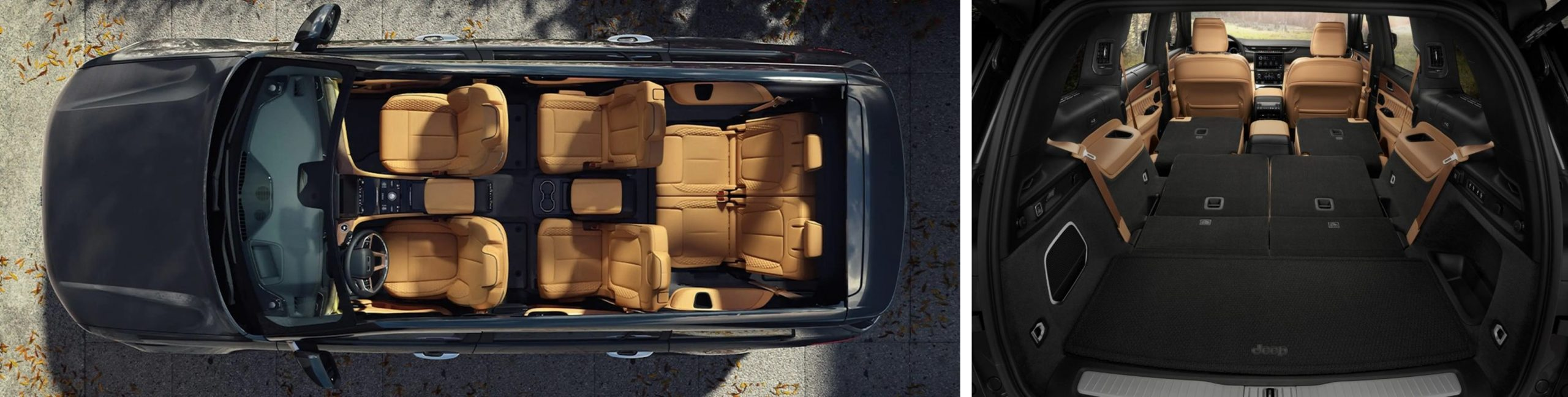 All-New 2021 Jeep Grand Cherokee L Seating