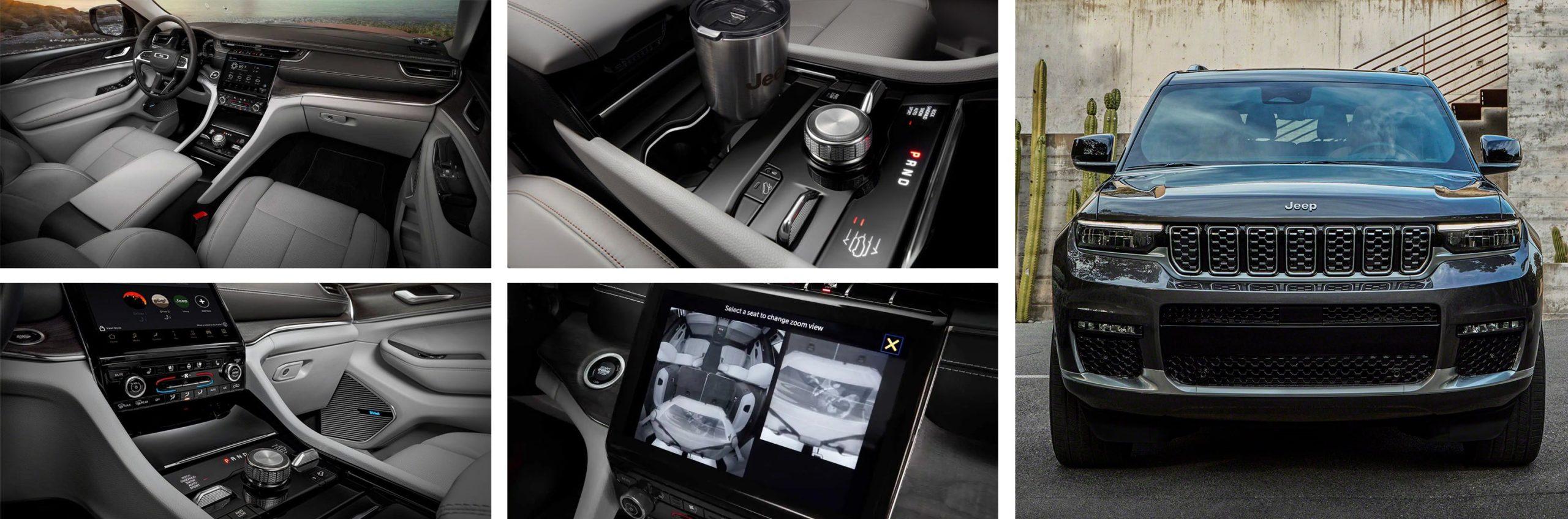 All-New 2021 Jeep Grand Cherokee L interior