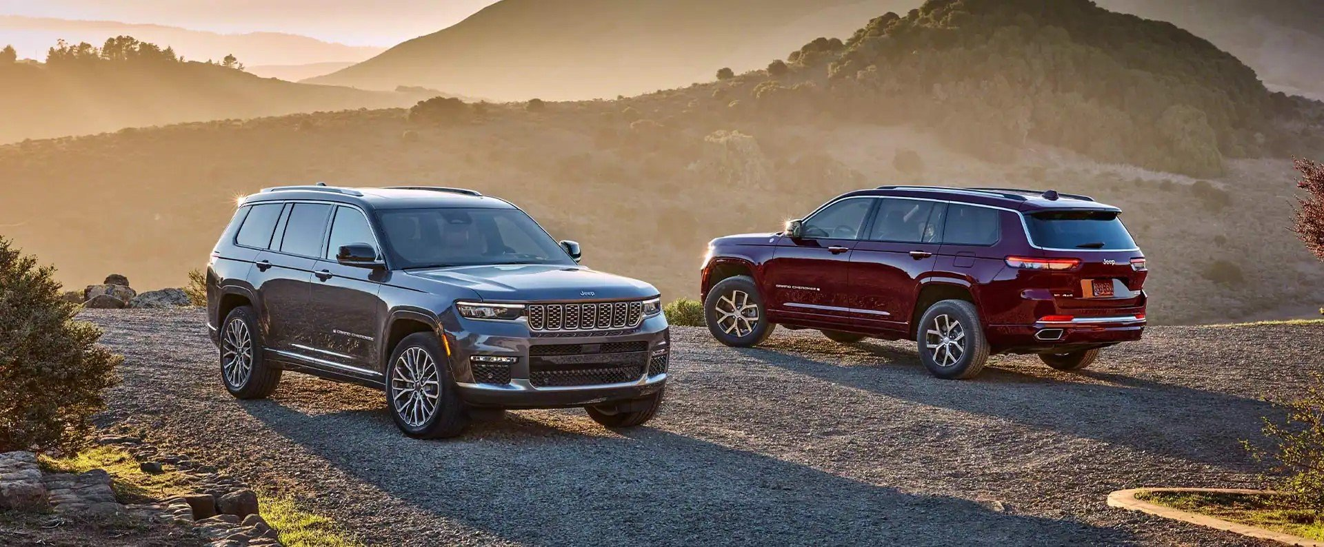 All-New Jeep Grand Cherokee L with 3rd row seating