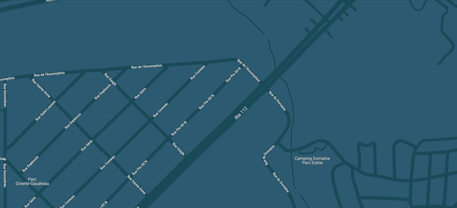 Magog Concept Chrysler Location Map